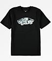 Vans Boys OTW Logo Black T-Shirt