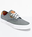Vans Chima Pro Cord Chambray Skate Shoes