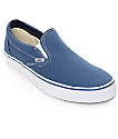 Vans Classic Slip On Navy Shoes