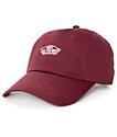 Vans Court Burgundy Baseball Hat