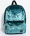 Vans Deanna Jade Green Velvet 22L Backpack