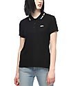 Vans Echelon Black Polo Shirt