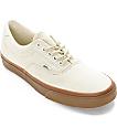 Vans Era 59 Hiking White and Gum Skate Shoes