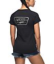 Vans Full Patch Black Cuffed Raglan T-Shirt