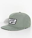 Vans Full Patch Laurel Green Strapback Hat