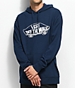 Vans MN Off The Wall Navy Hoodie