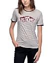 Vans OTW Black & White Striped Ringer T-Shirt