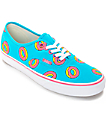 Vans Odd Future Authentic Scuba Blue Donut Shoes