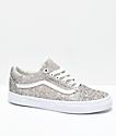 Vans Old Skool Chunky Glitter Skate Shoes