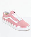 Vans Old Skool Zephyr & White Shoes (Womens)