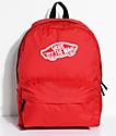 Vans Realm Racing Red 22L mochila roja