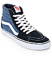 Vans Sk8-Hi Navy Skate Shoes