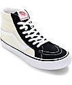 Vans Sk8-Hi Pro 50th Black and White Skate Shoes (Mens)