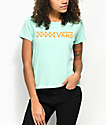 Vans Skimmer Cali Blue & Orange T-Shirt