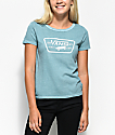 Vans Skimmer Canton Teal Pigment Dye T-Shirt