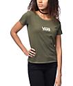 Vans Skimmer Olive Pigment Dyed T-Shirt