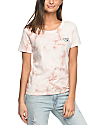 Vans Skimmer Tan Rose Cloudwash T-Shirt