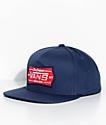 Vans Stiner Dress Blue Snapback Hat