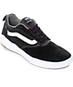 Vans UltraRange Pro Black & White Suede Skate Shoes