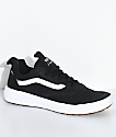Vans UltraRange Rapidweld Black & White Skate Shoes