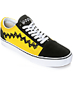 Vans X Peanuts Old Skool Charlie Brown Skate Shoe
