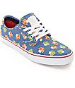 Vans x Nintendo Chima Pro Mushrooms Blue Skate Shoes