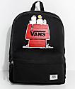 Vans x Peanuts Realm Black 22L Backpack