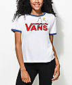 Vans x Peanuts Snoopy White Ringer T-Shirt