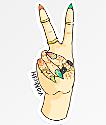 VidaKush Peace Out Sticker