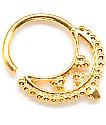 Vidakush Freya Gold Septum Ring