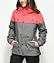 Volcom Bolt Bright Rose 10K Snowboard Jacket