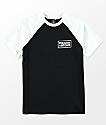 Volcom Boys Wrecker Black & White T-Shirt