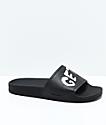 Volcom Don't Trip (Get Stoned) Black Slide Sandals