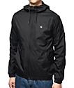 Volcom Ermont Black Windbreaker Jacket
