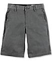 Volcom Frickin Charcoal Boys Chino Shorts