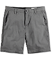 Volcom Frickin Drifter Charcoal Chino Shorts