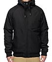 Volcom Hernan Black Insulated Bomber Jacket