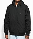 Volcom Hernan Insulated Black Bomber Jacket