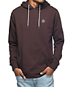 Volcom Lonely Stone Brown Fleece Hoodie
