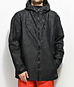 Volcom Prospect Black On Black 10K Snowboard Jacket