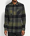 Volcom Stradland Military Green Flannel Shirt