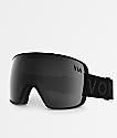 VonZipper Alt XM Black Satin Chrome Snowboard Goggles