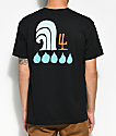 Waves For Water x Andy Davis Black T-Shirt
