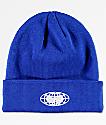 Wu Wear Globe Logo Royal Blue Beanie