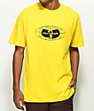 Wu Wear Globe Logo Yellow T-Shirt