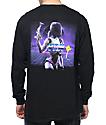 YRN Culture Lightning Black Long Sleeve T-Shirt