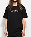 YRN Culture Script Black T-Shirt