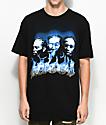 YRN Migos Flame Black T-Shirt