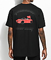 YRN Raindrop Auto Shop Black T-Shirt