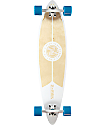 "Z-Flex Top Shelf White & Natural 38"" Pintail Longboard Complete"